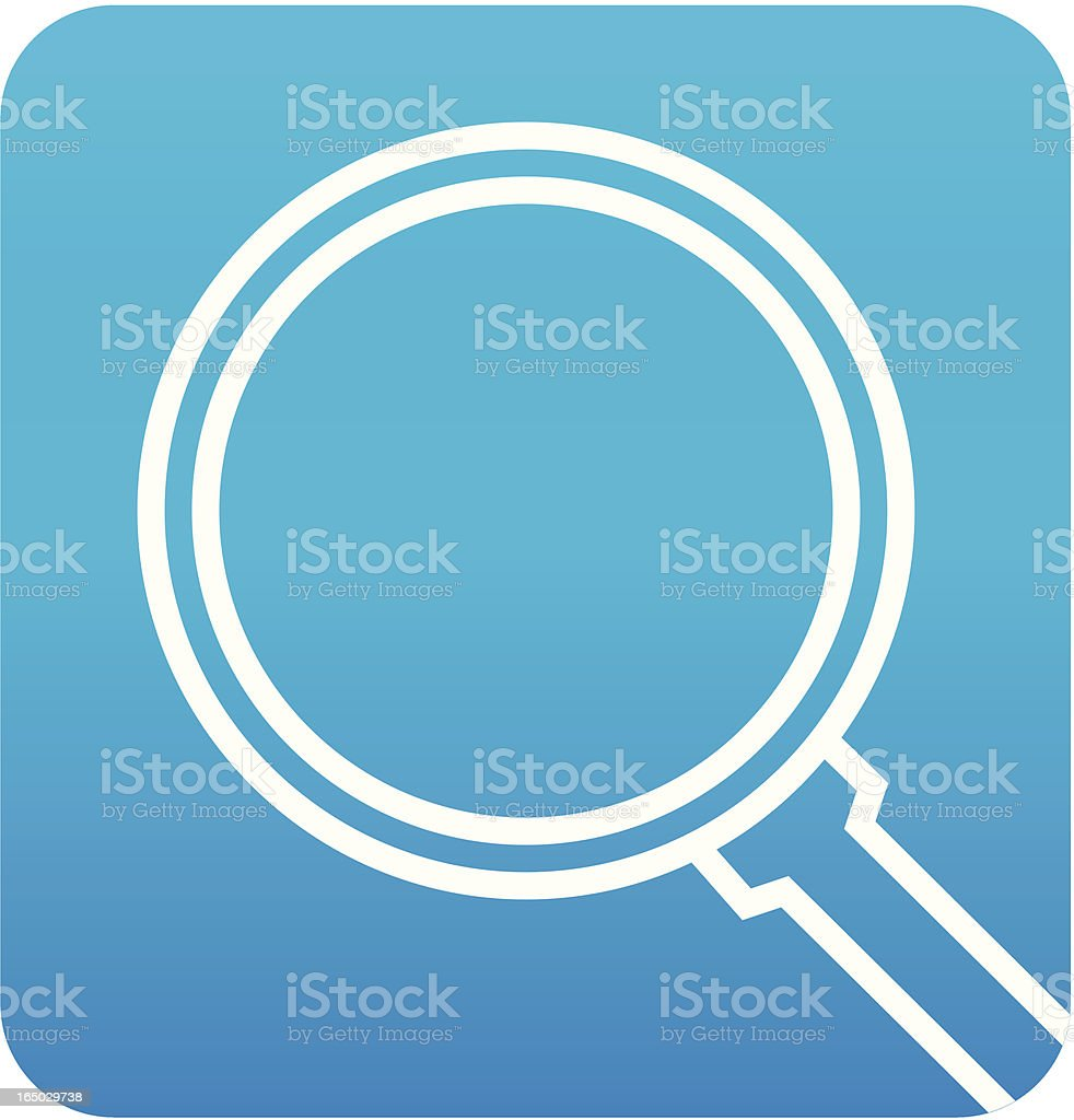 Search Icon royalty-free stock vector art