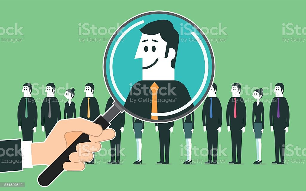 Search the best employee vector art illustration