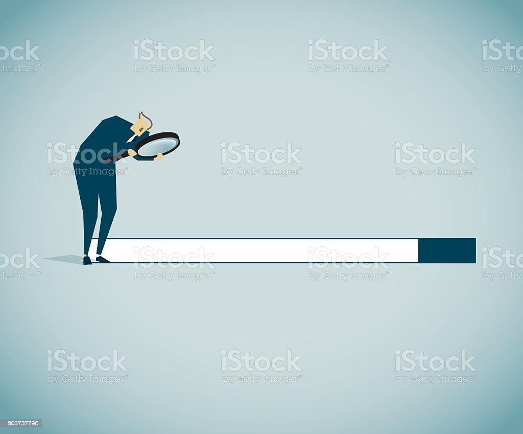 Searching vector art illustration