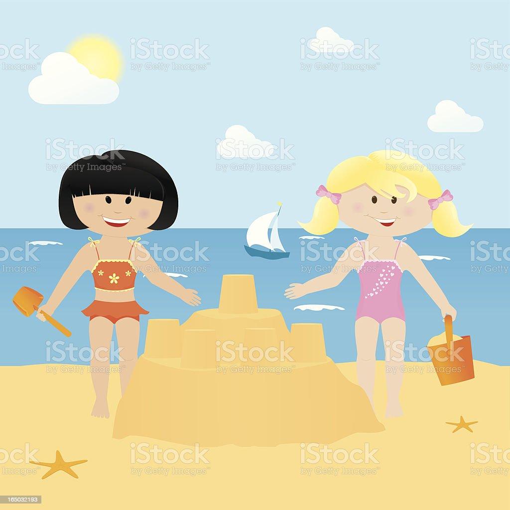Seaside Fun - incl. jpeg royalty-free stock vector art