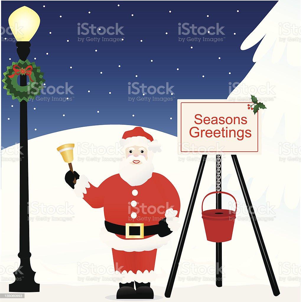 Season for Giving vector art illustration