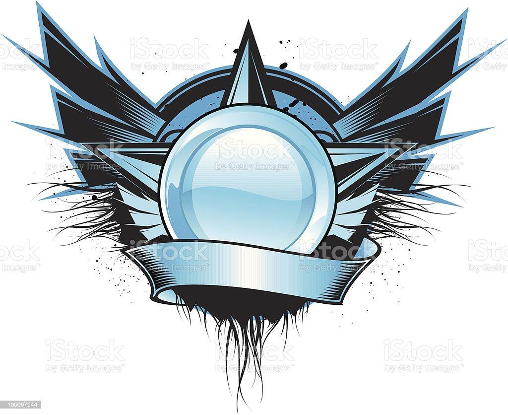 secret star royalty-free stock vector art