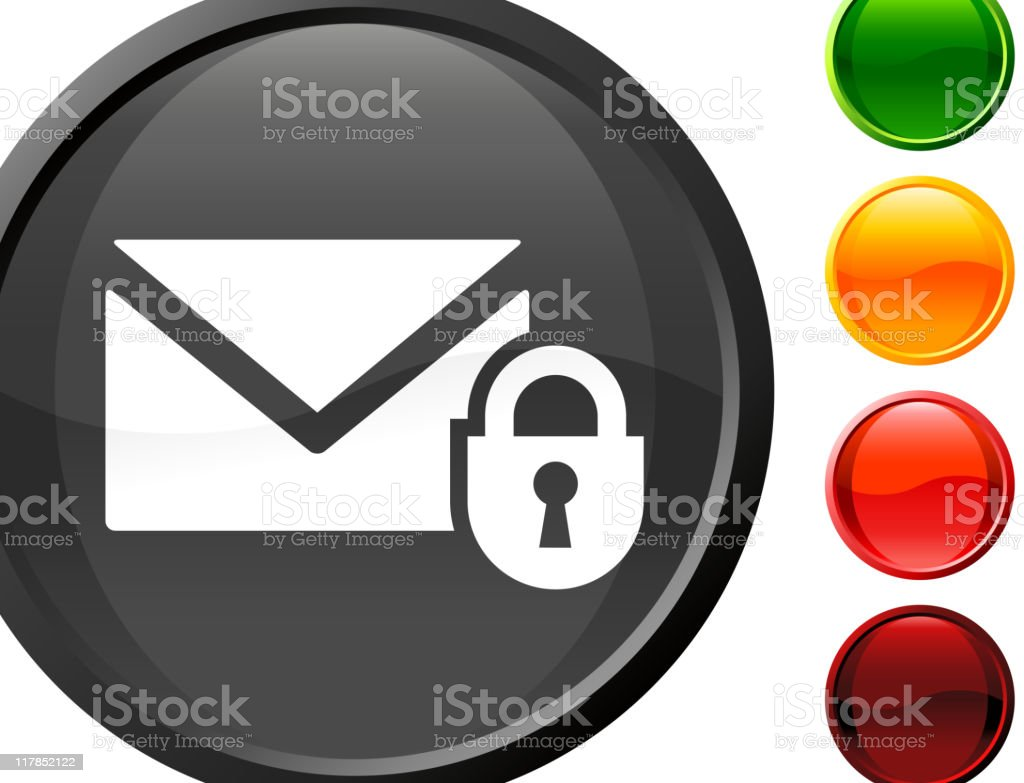 secure mail internet royalty free vector art royalty-free stock vector art