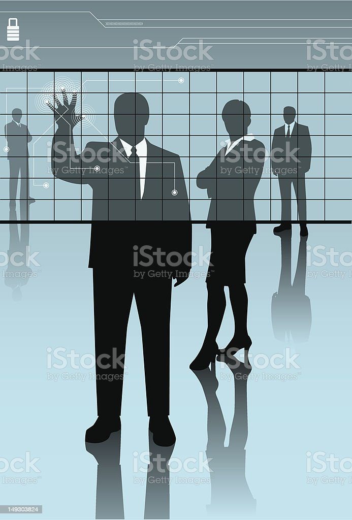 security consultants royalty-free stock vector art