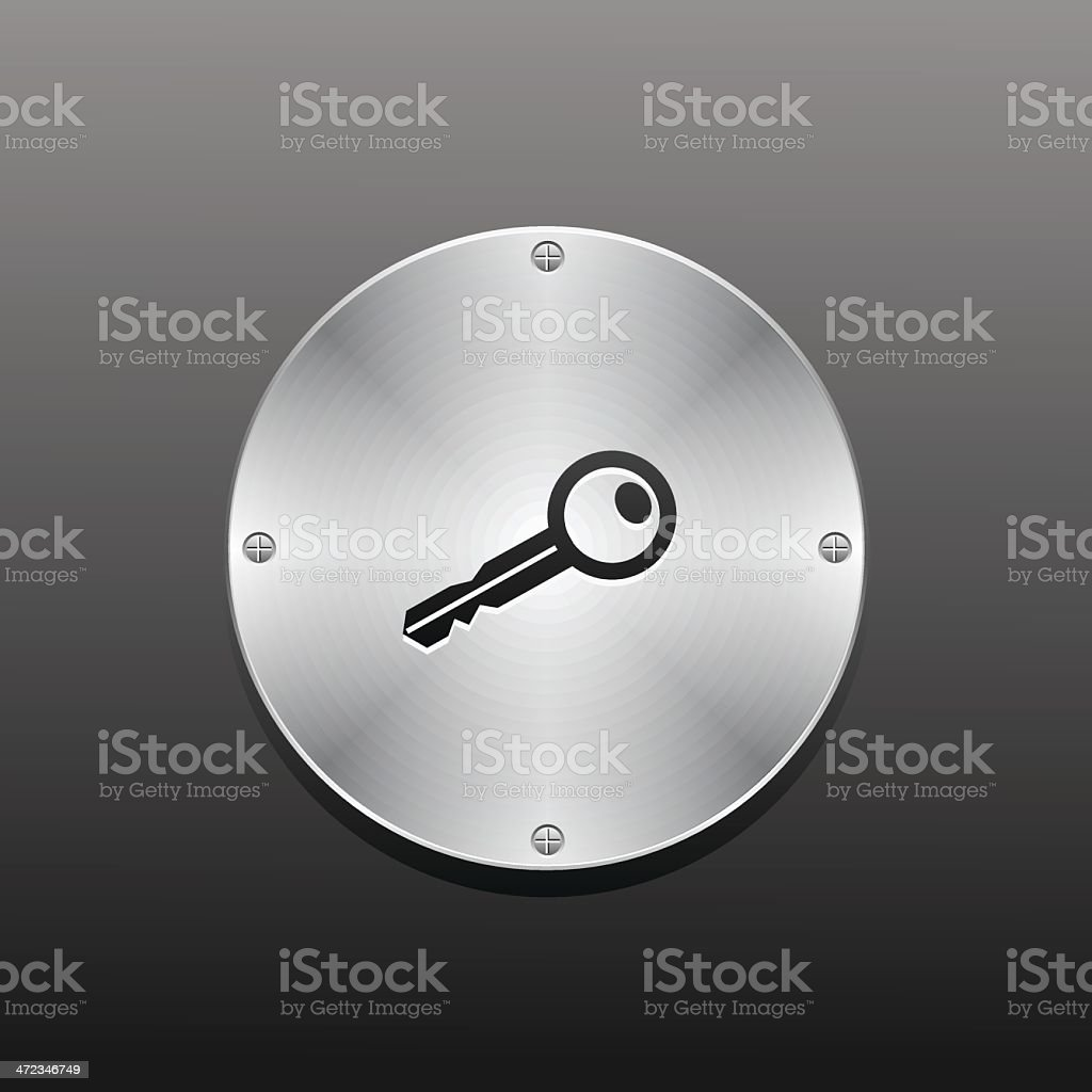Security icon royalty-free stock vector art