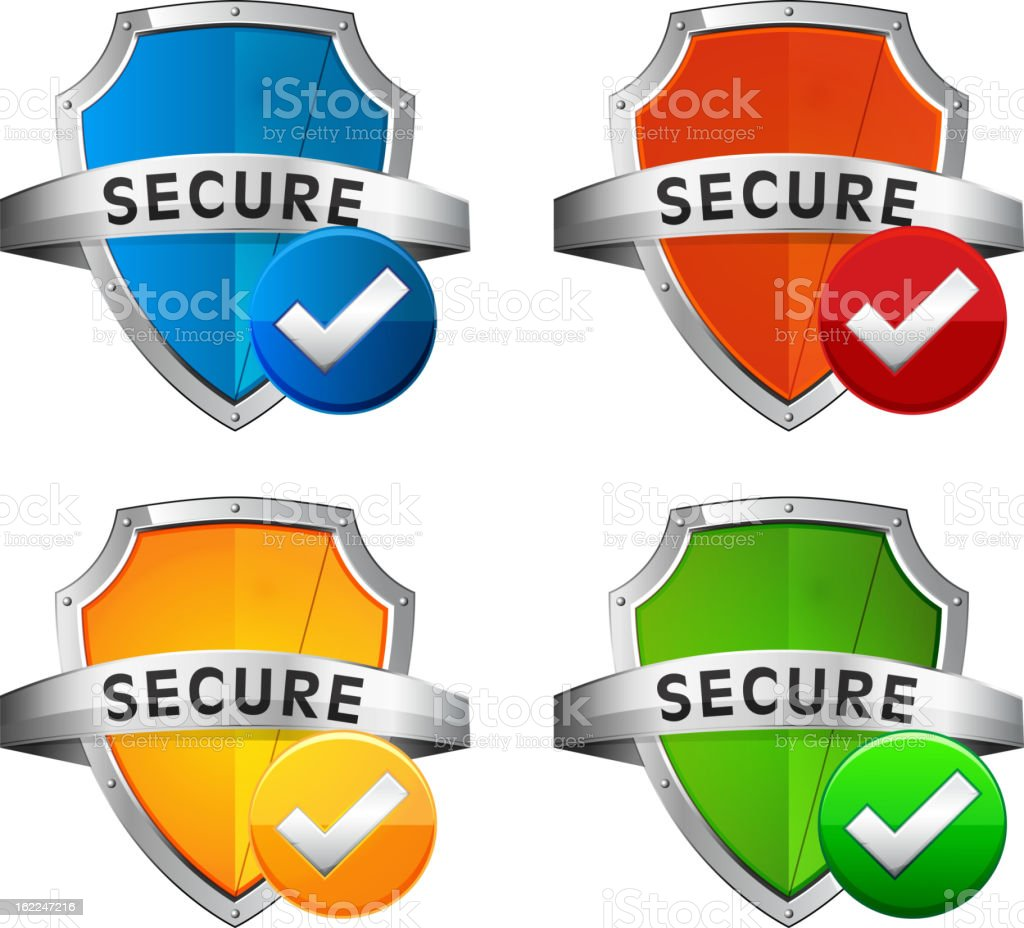 Security Seal royalty-free stock vector art