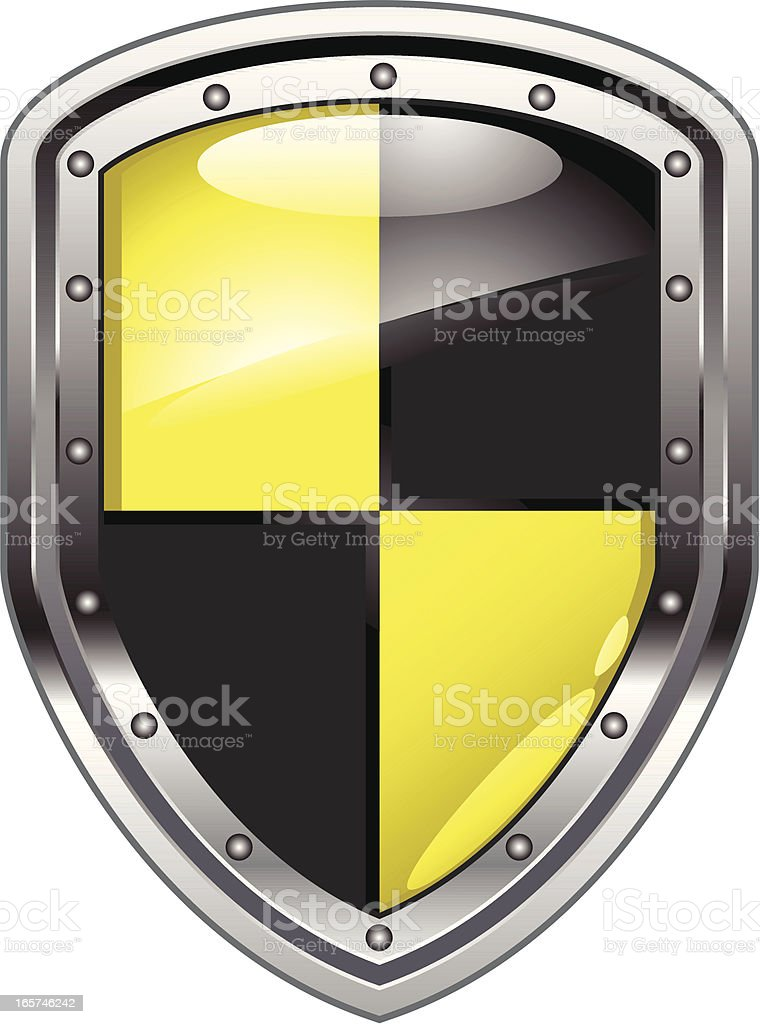 security shield royalty-free stock vector art