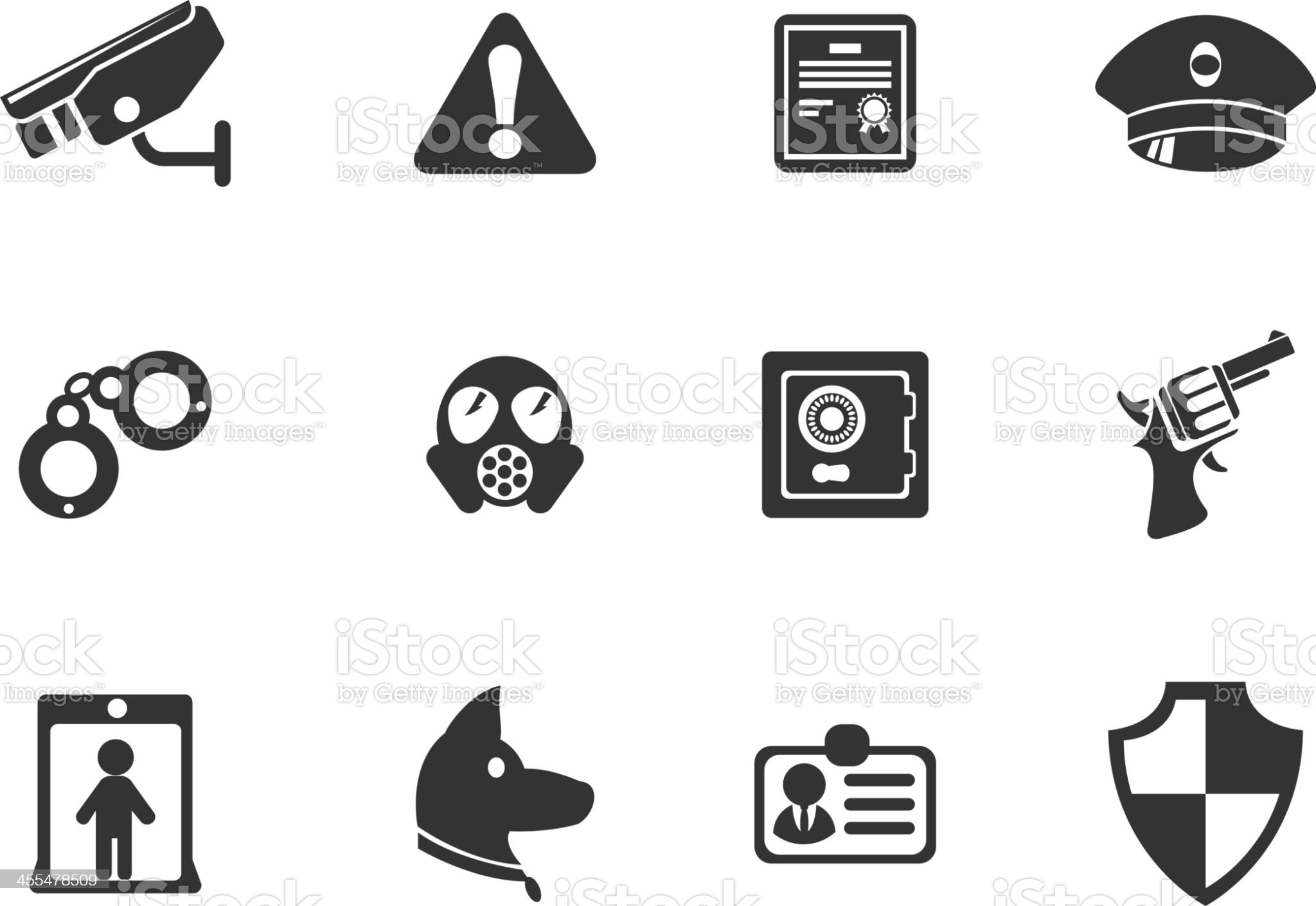Security symbols royalty-free stock vector art