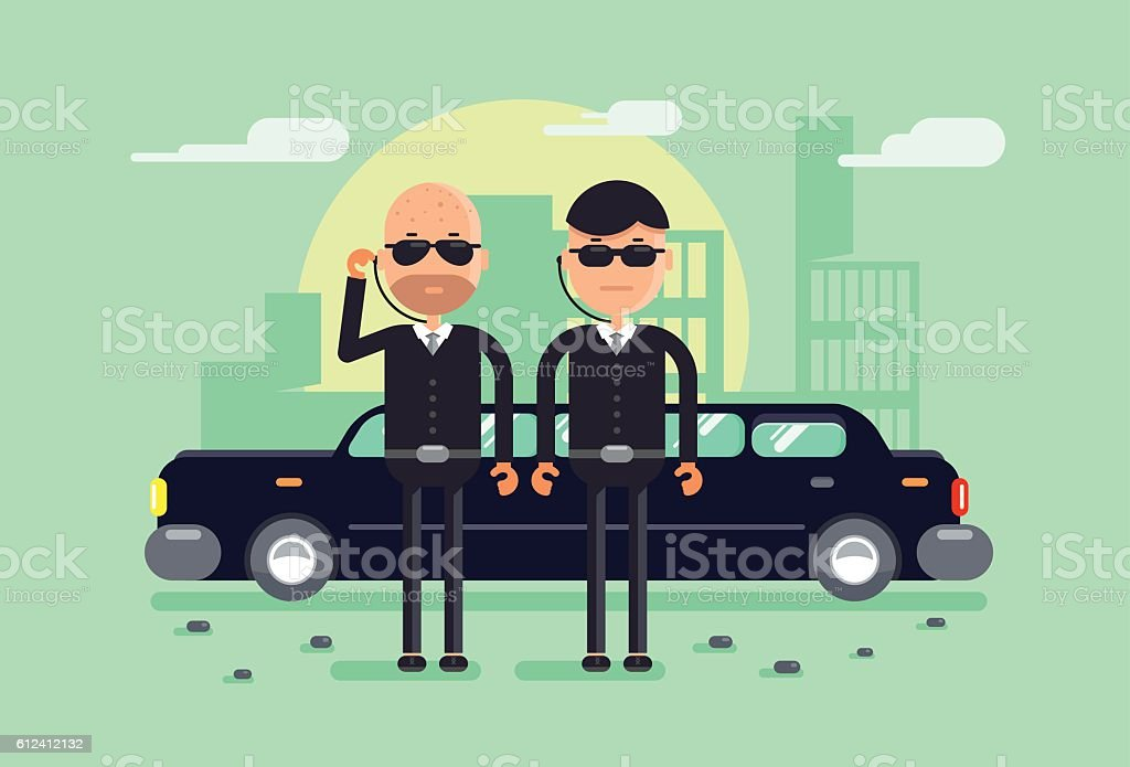 security vector art illustration