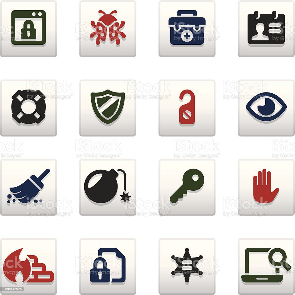 Security_Vividy series_15 royalty-free stock vector art