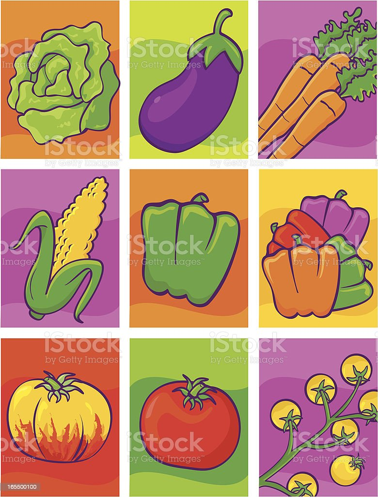 Seed Packets royalty-free stock vector art