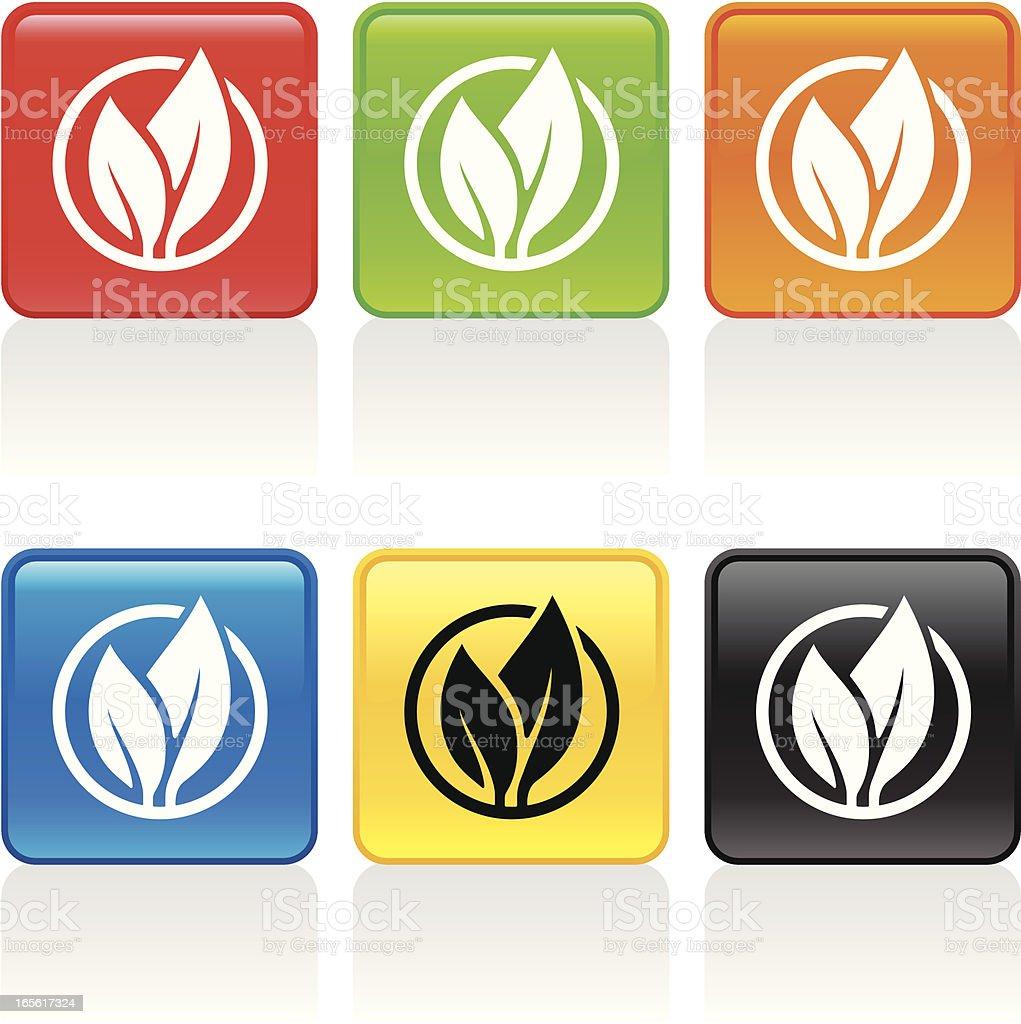 Seedling Icon vector art illustration