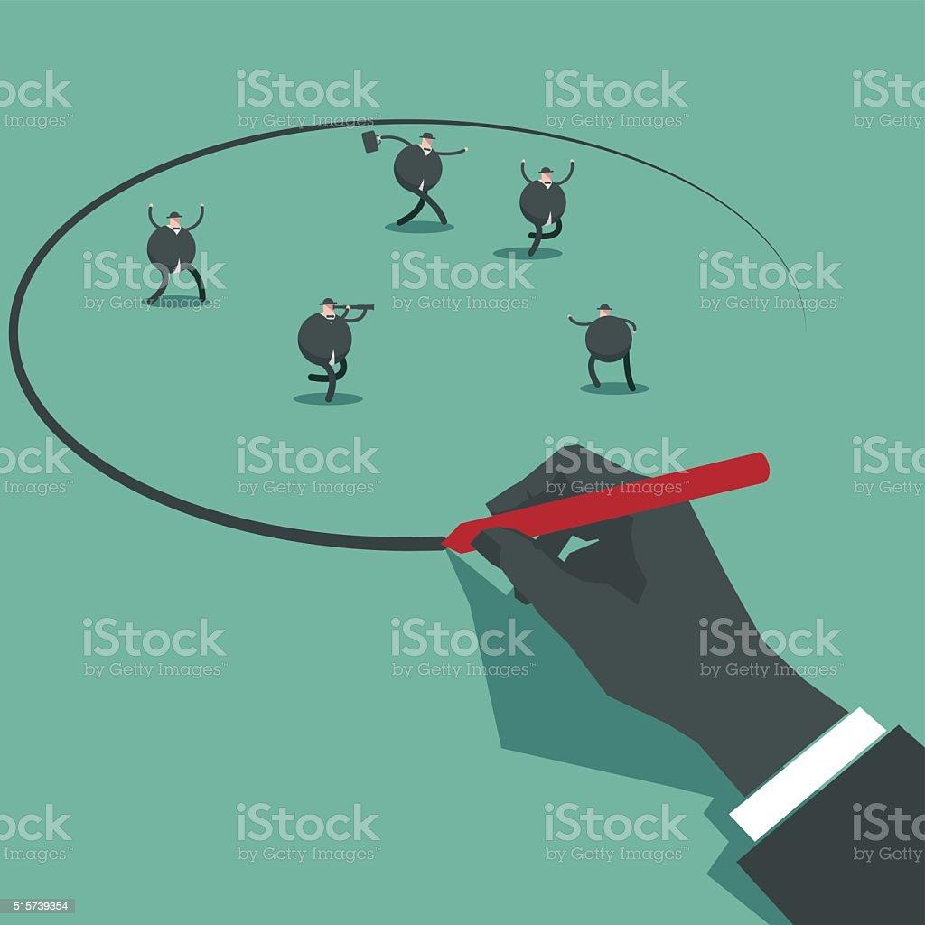 select vector art illustration