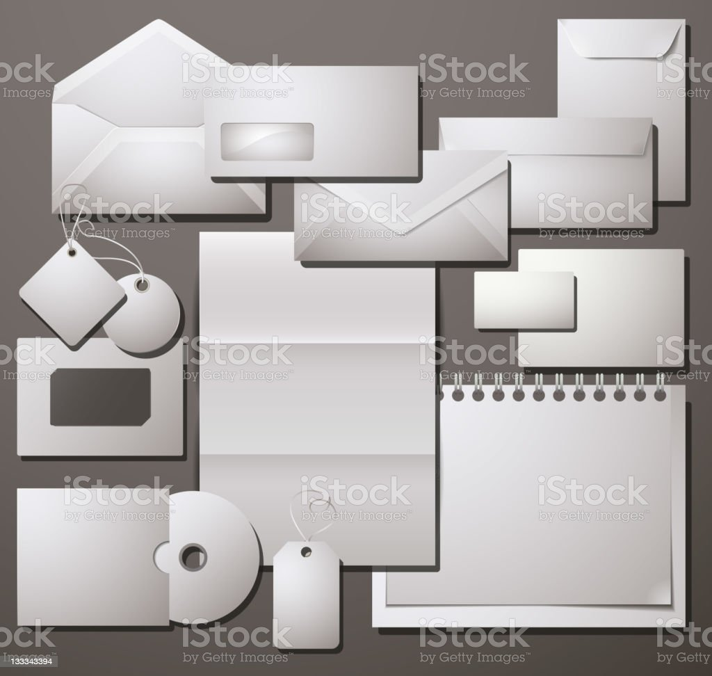 Selected Corporate Templates. Vector Illustration. royalty-free stock vector art