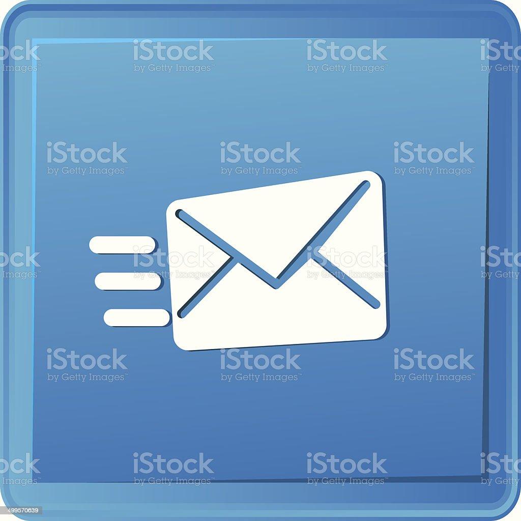 Send email symbol,vector royalty-free stock vector art