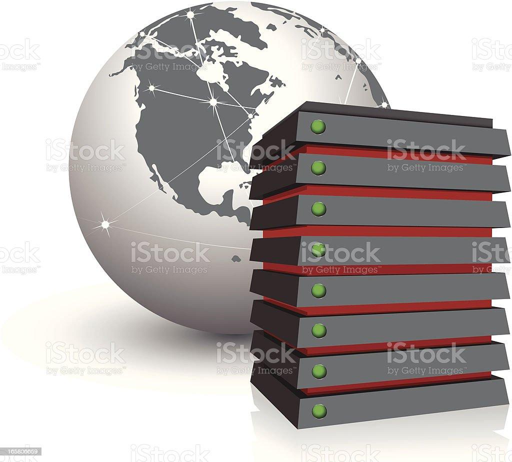 server royalty-free stock vector art