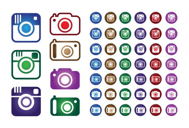 Vector Illustration Instagram: Instagram Clip Art, Vector Images & Illustrations