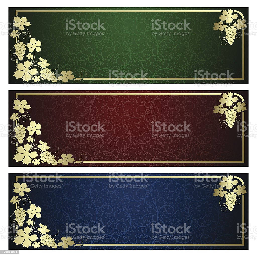Set from  backgrounds royalty-free stock vector art