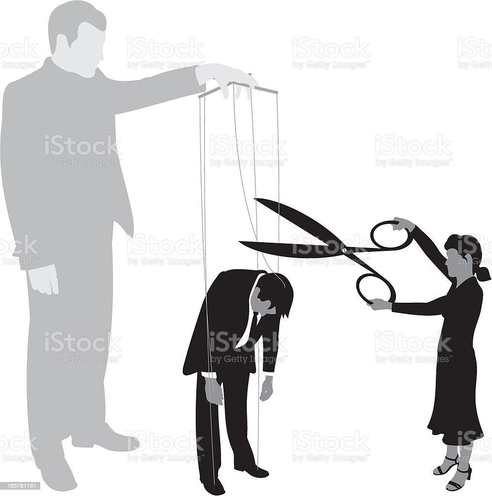 Set Him Free vector art illustration