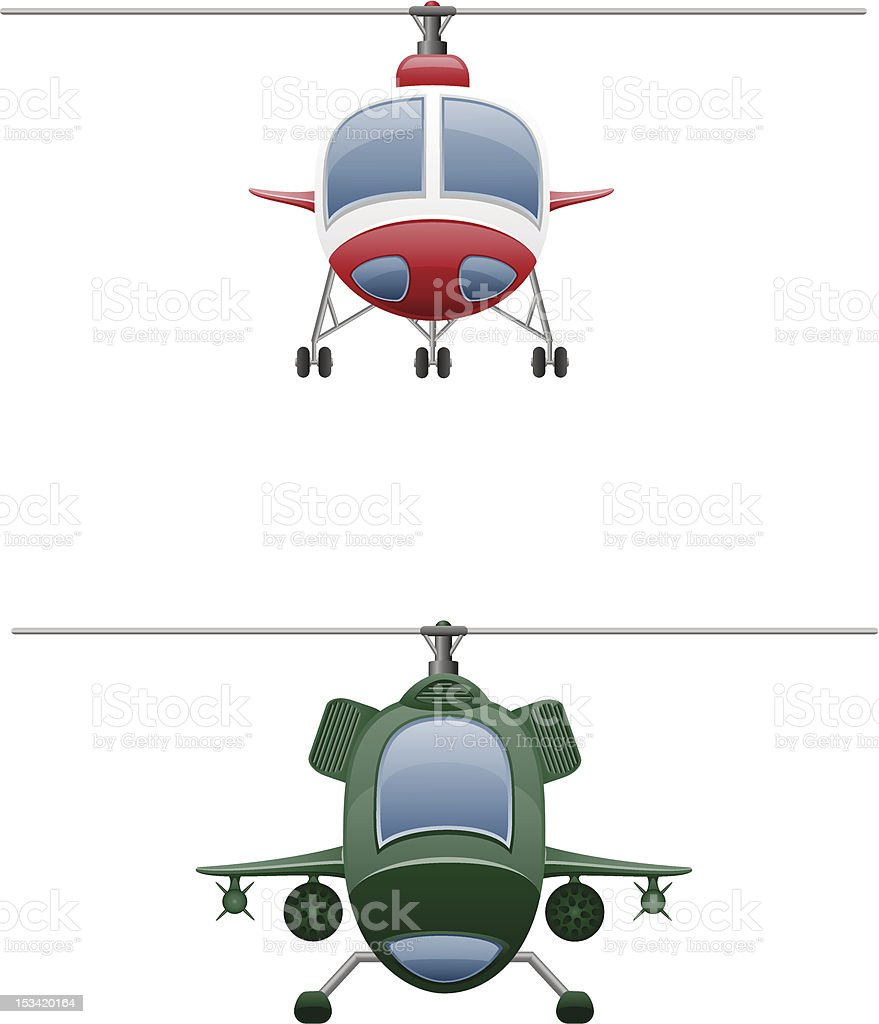 set icons helicopter vector illustration royalty-free stock vector art