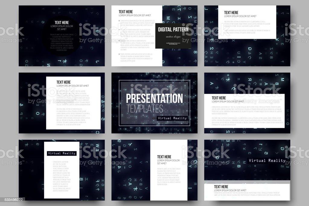 Шаблоны презентации виртуальная реальность