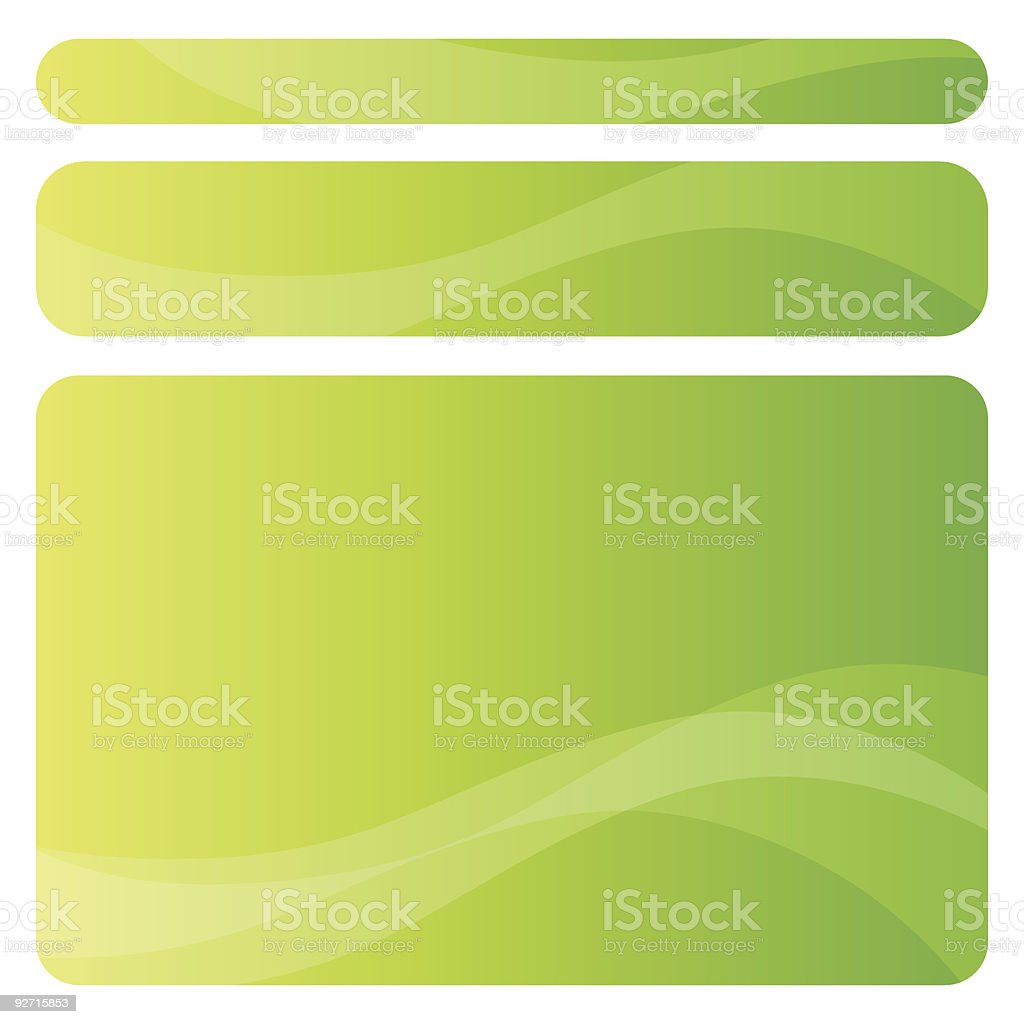 Set of abstract backgrounds royalty-free stock vector art