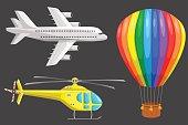 Set of air transport