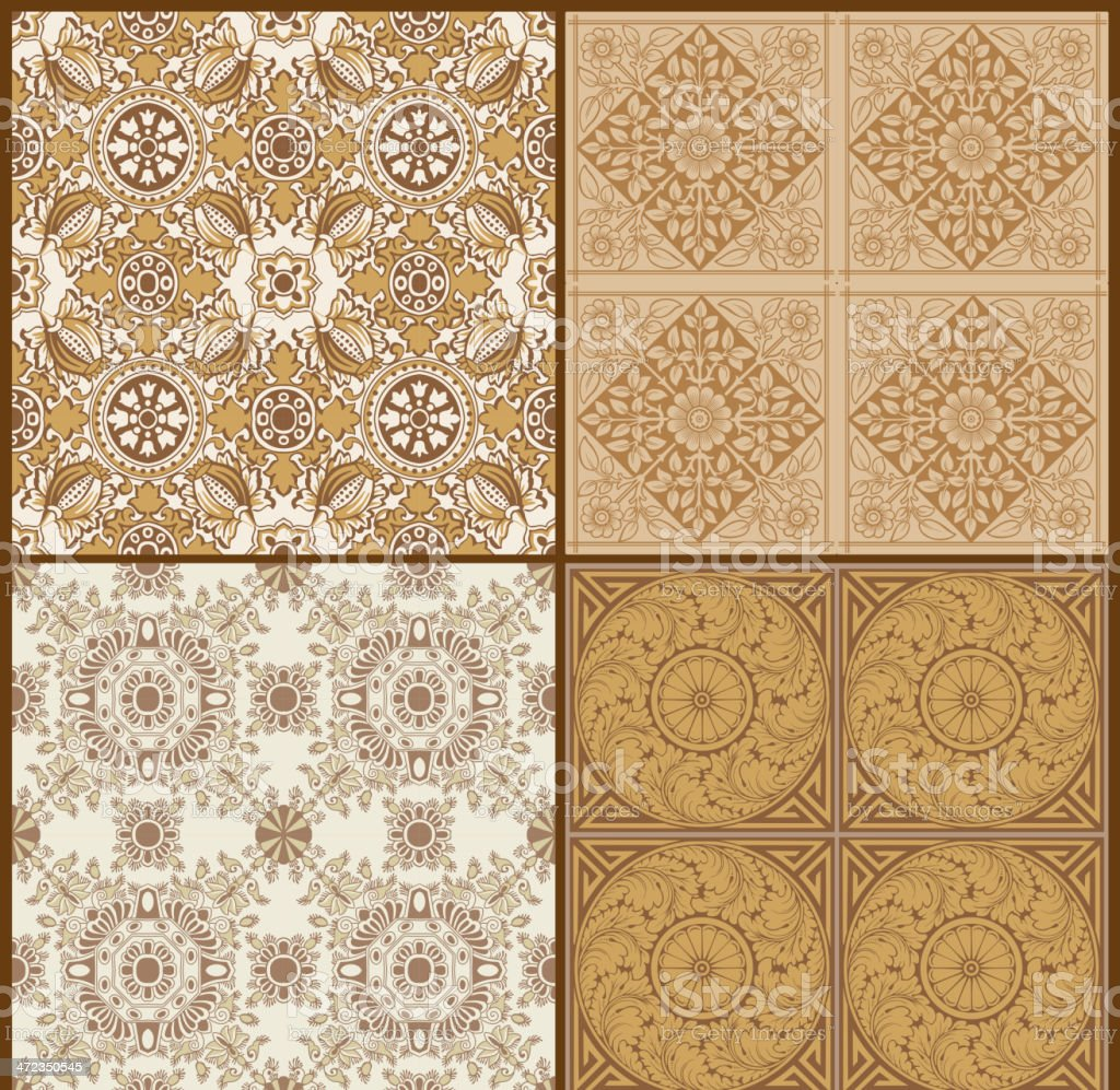 Set of Background Designs royalty-free stock vector art