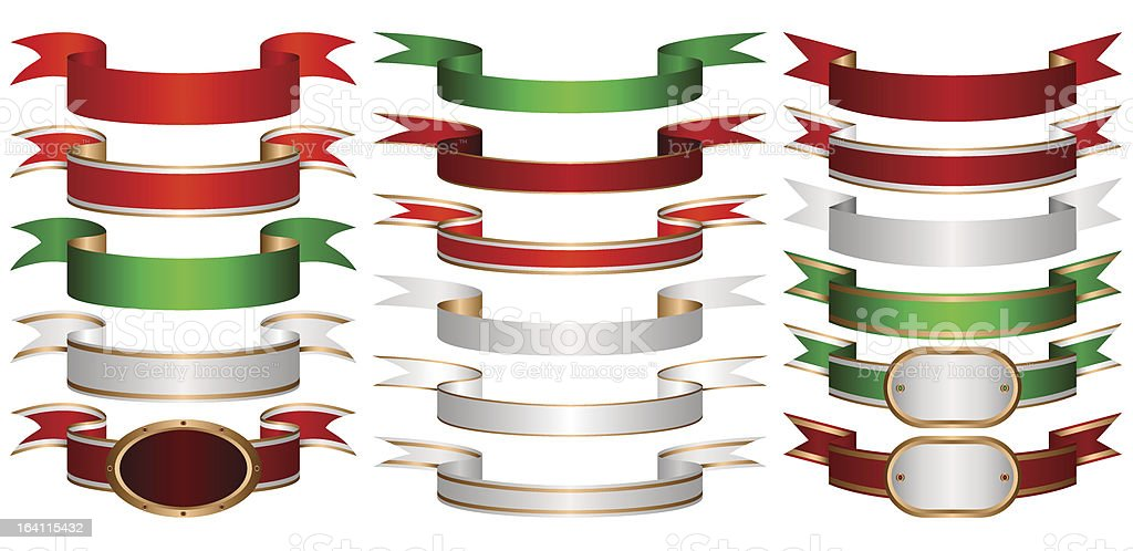 Set of banners. royalty-free stock vector art