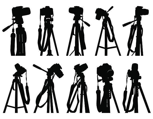 Tripod Survey Pictures Clip Art, Vector Images & Illustrations