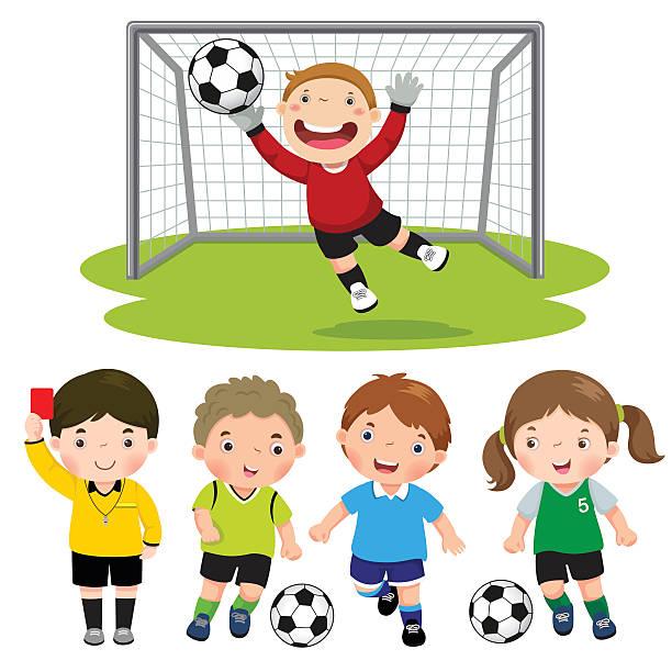 Goalie Clip Art, Vector Images & Illustrations - iStock