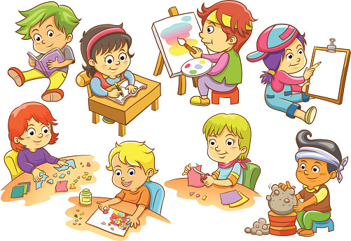 Leisure Activity Clip Art, Vector Images & Illustrations ...