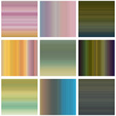 set of colorful stripe pattern background
