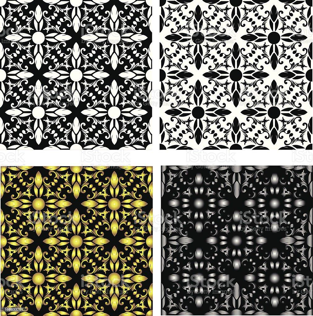 set of decorative elements royalty-free stock vector art