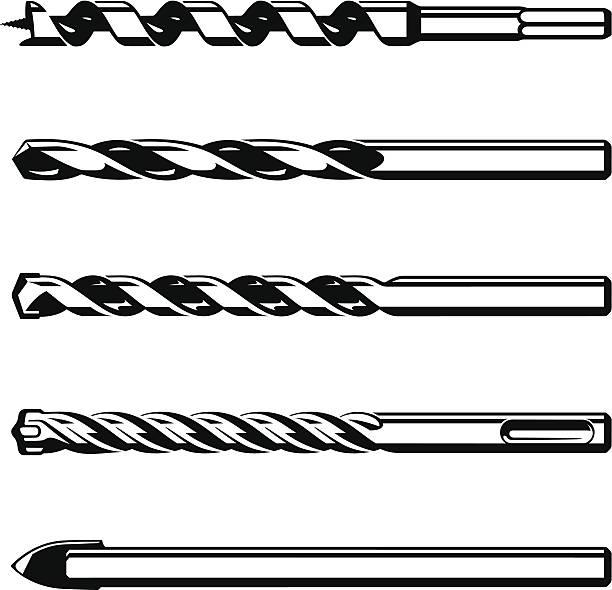 Power Drill Bit Clip Art : Drill clip art vector images illustrations istock