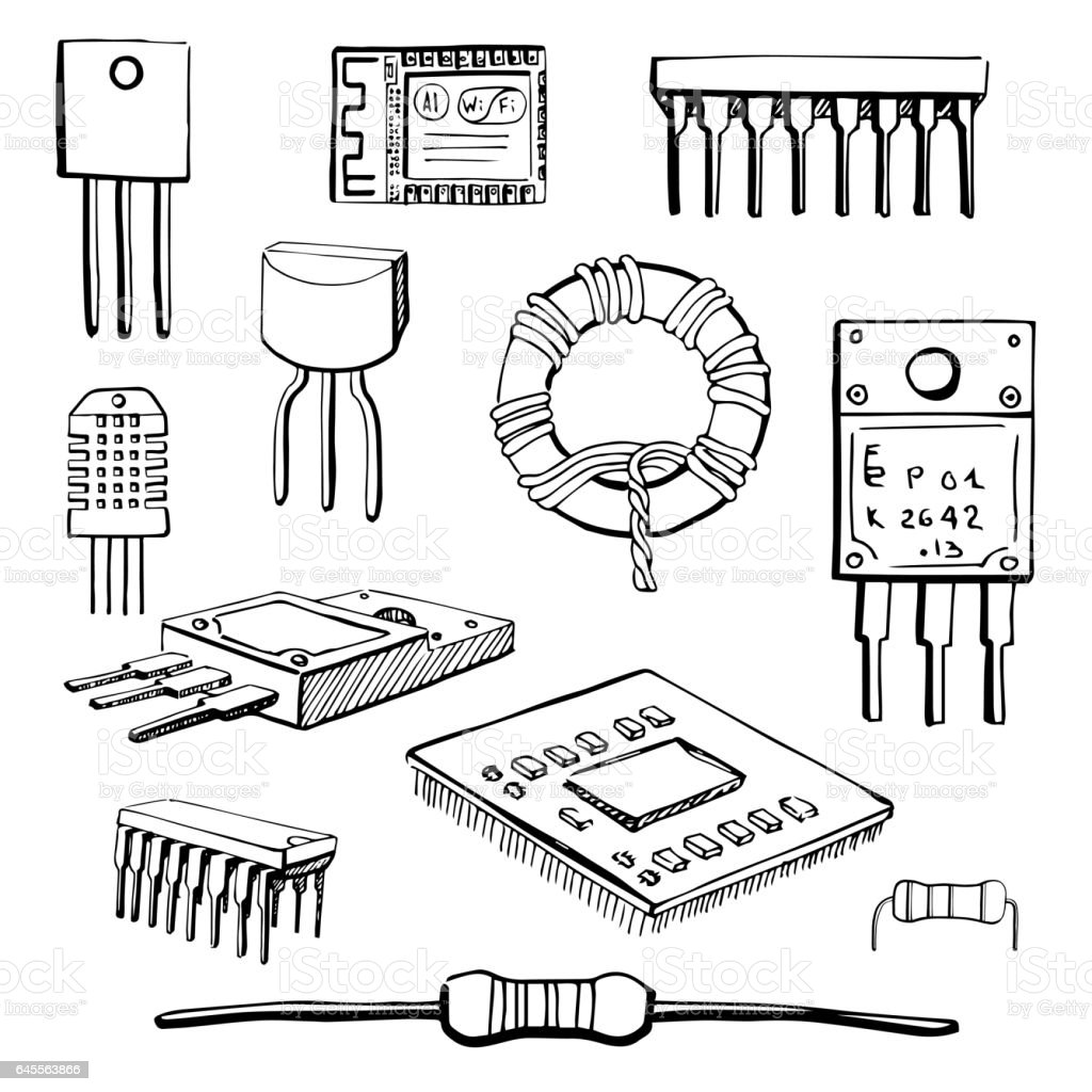 inductor clip art  vector images  u0026 illustrations