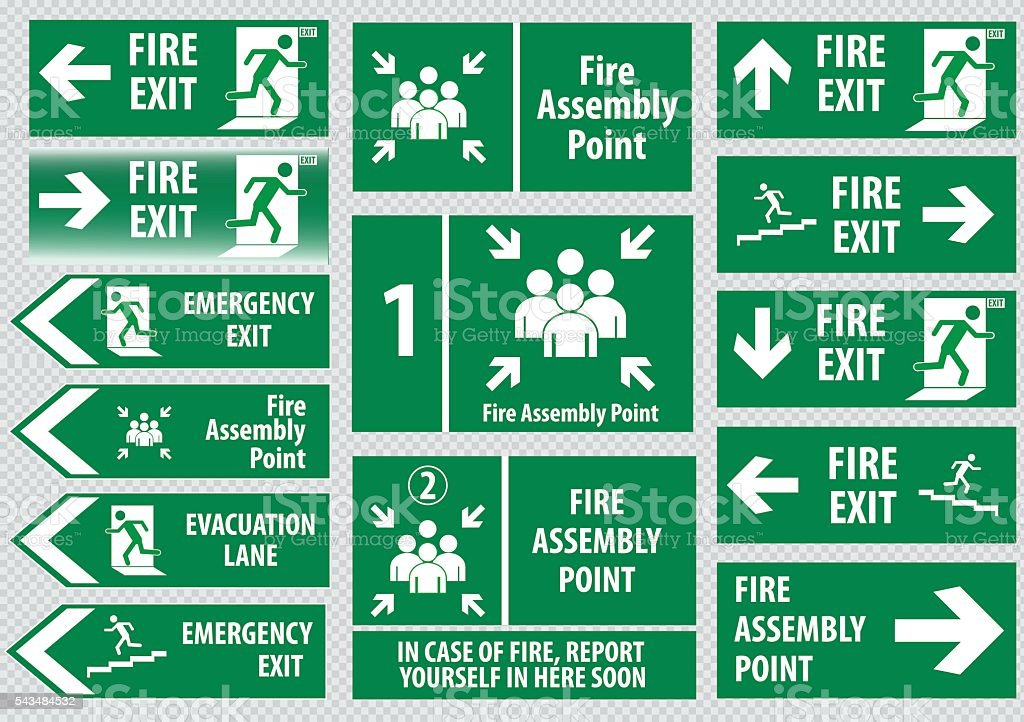 Evacuation Clip Art, Vector Images & Illustrations