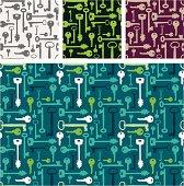 Set of four Key pattern