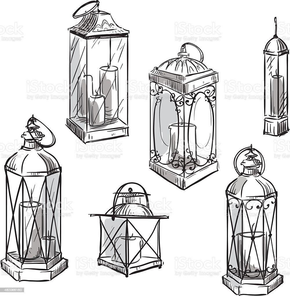 related keywords  u0026 suggestions for old lantern sketch