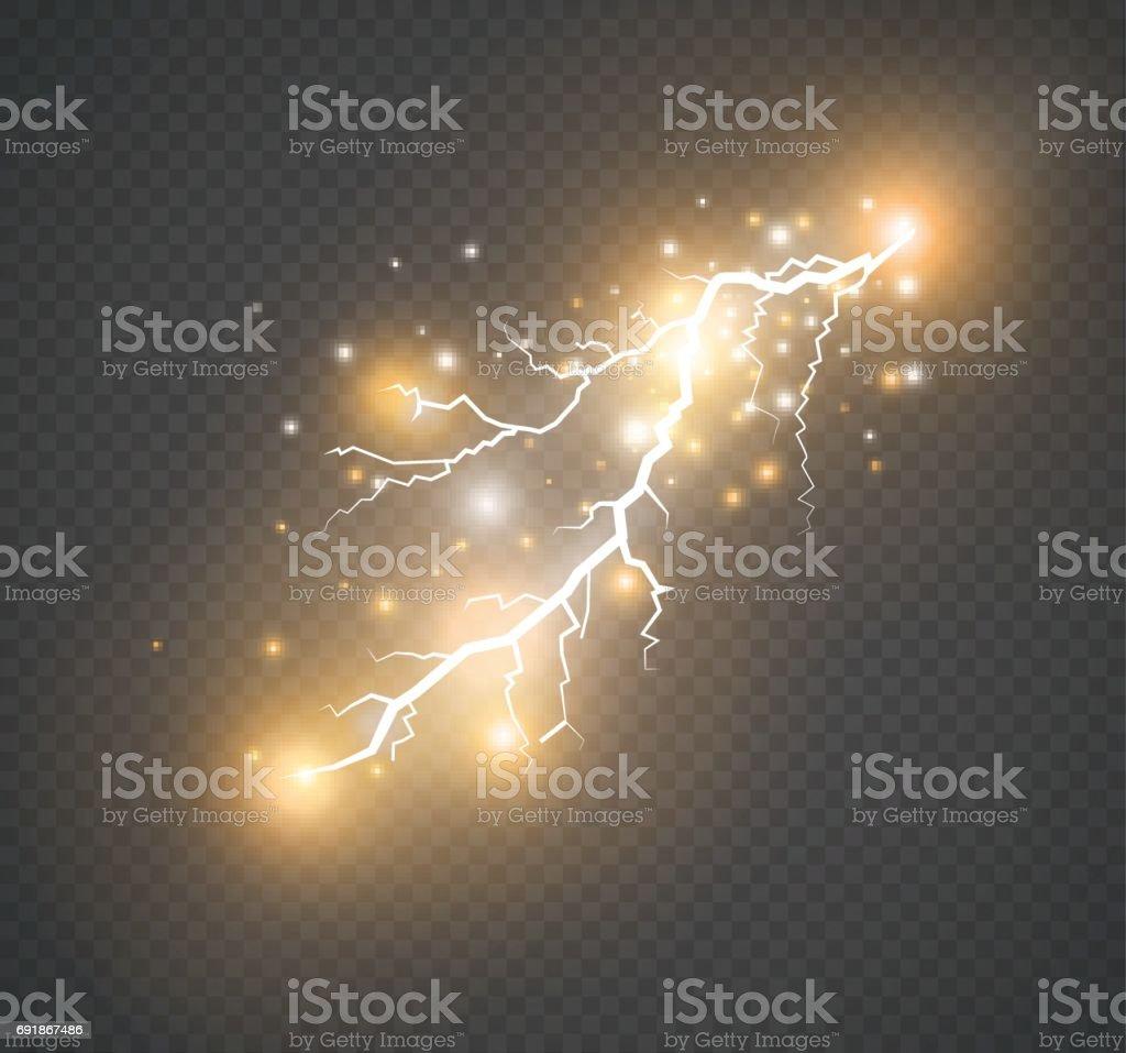 magia y brillantes efectos de iluminacin libre de derechos libre de