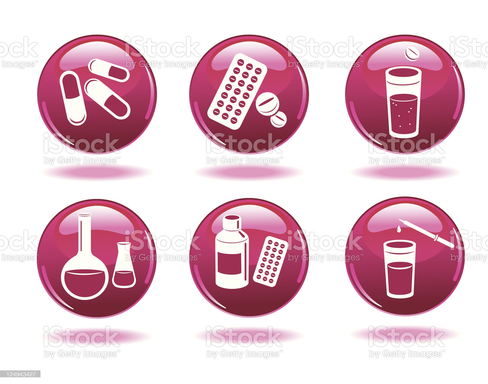 Set of medical icons. Medicine. royalty-free stock vector art