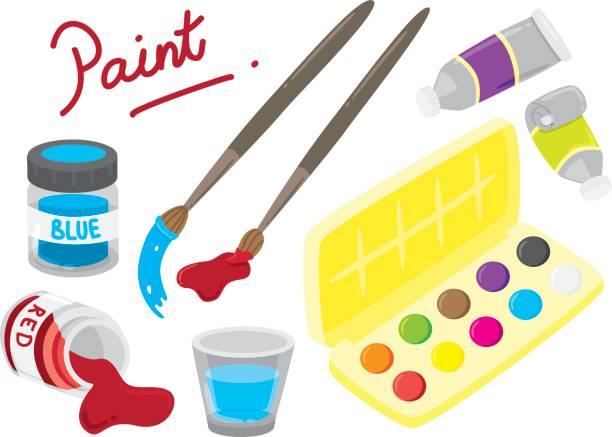 Paint Tube Clip Art, Vector Images & Illustrations - iStock