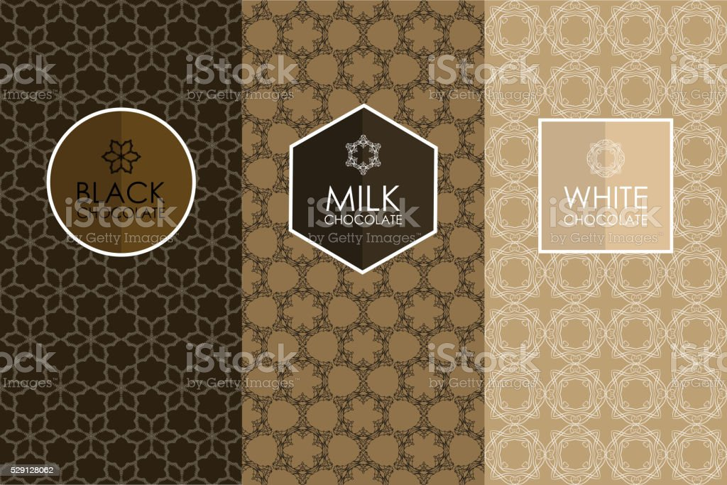 set of templates packaging vector art illustration