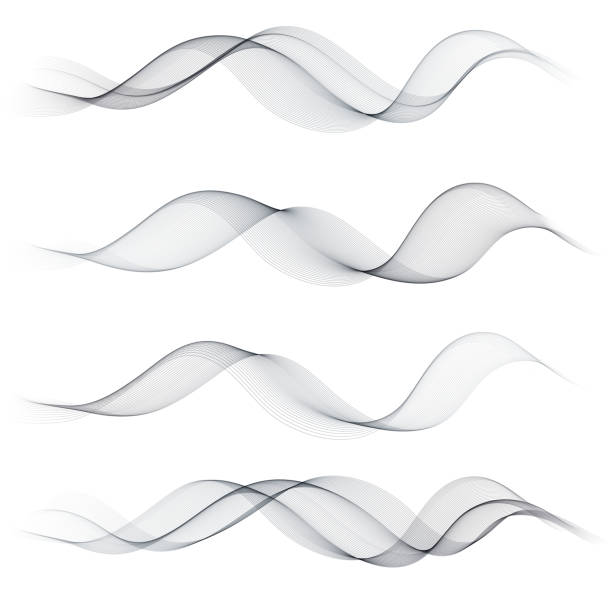 Curved Line Design : Squiggle clip art vector images illustrations istock