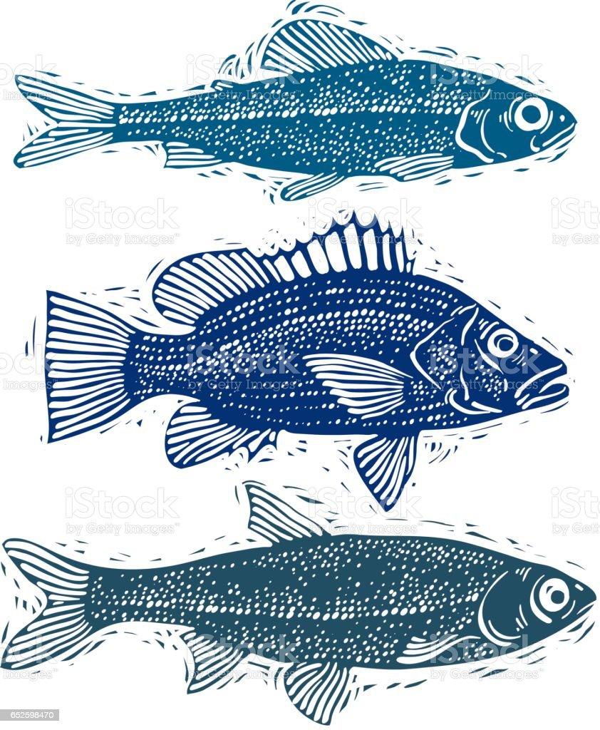 Different fish symbols for Dream interpretation fish