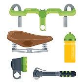 set of velo equipment