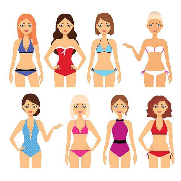 Swimwear Clip Art, Vector Images & Illustrations - iStock