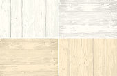 Set of wooden planks overlay texture for your design. Shabby