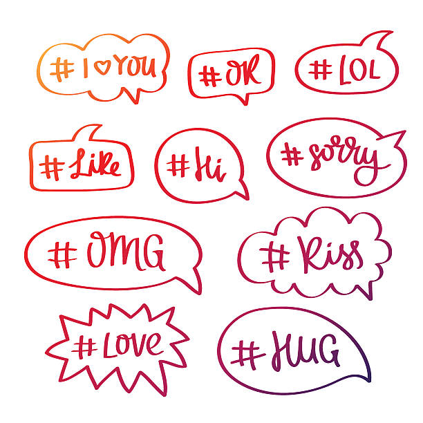 Hug Text Symbol Clip Art Vector Images Illustrations Istock
