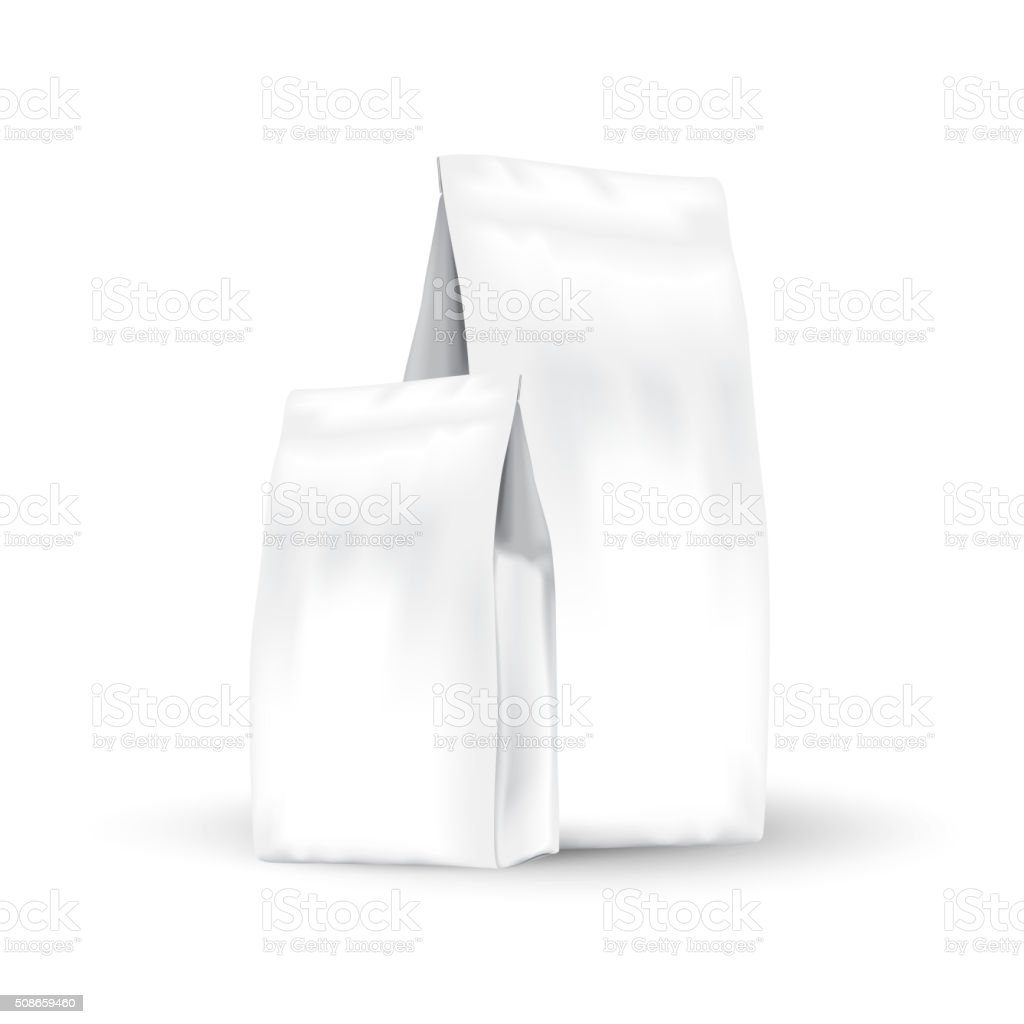 Set packing vector art illustration
